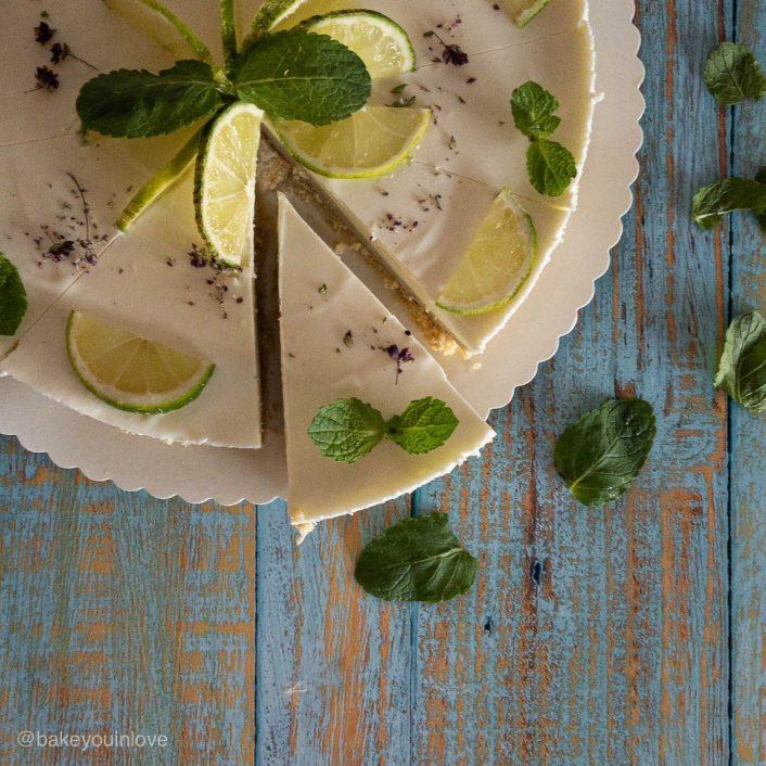 Чийзкейк с авокадо (без печене)